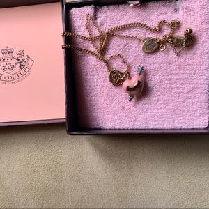 Juicy couture necklace in used condition